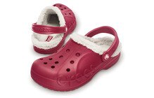 Crocs Baya Lined pomegranate/oatmeal